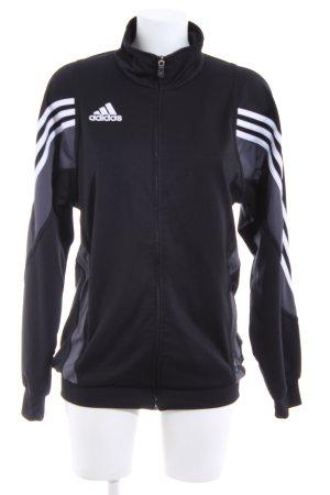 Adidas Sports Jacket themed print casual look