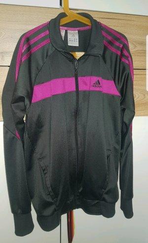Adidas Sportjack donkergrijs-violet