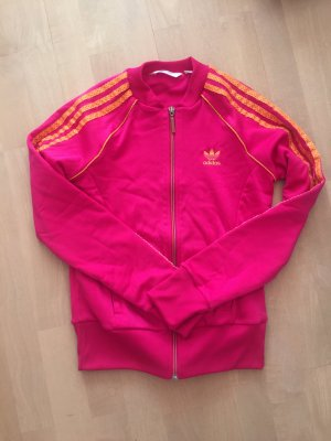 Adidas Veste de sport rose-orange fluo