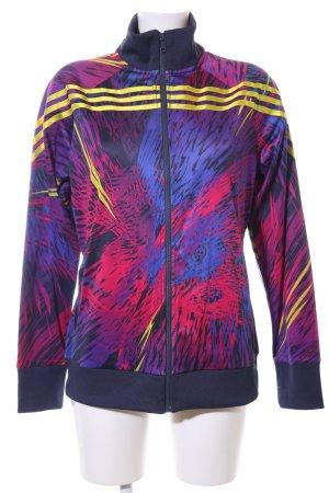 Adidas Sportjacke abstraktes Muster Casual-Look