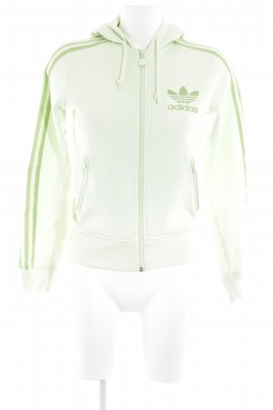 Adidas Sportjacke blassgrün sportlicher Stil
