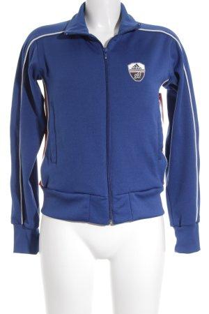 Adidas Sportjacke blau sportlicher Stil