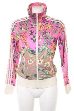 Adidas Veste de sport motif de fleur style décontracté