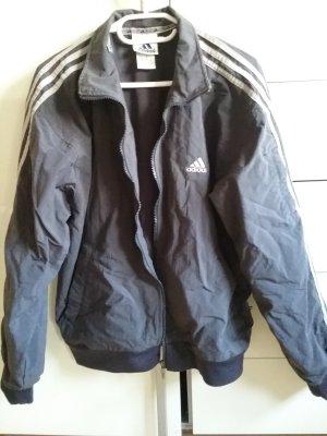 Adidas Sportjacke dunkelgrau