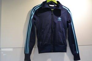 Adidas Sportjacke ,,Firebird'' dunkelblau/hellblau Gr.34