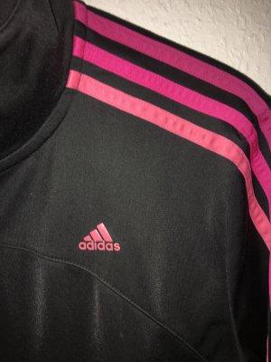 Adidas Sportjacke Gr XL schwarz pink rosa