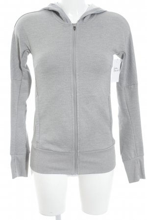 Adidas Sportjacke grau-hellgrau sportlicher Stil