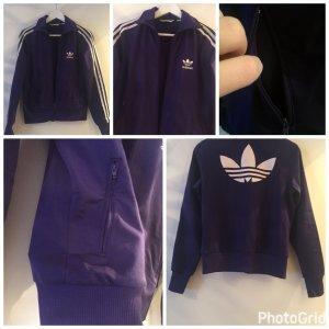 Adidas Sportjacke in lila