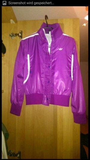 adidas sportjacke in Lila-violett