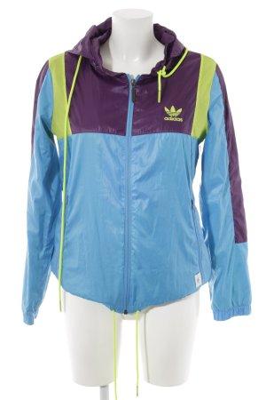 Adidas Sportjacke Lochstrickmuster Casual-Look