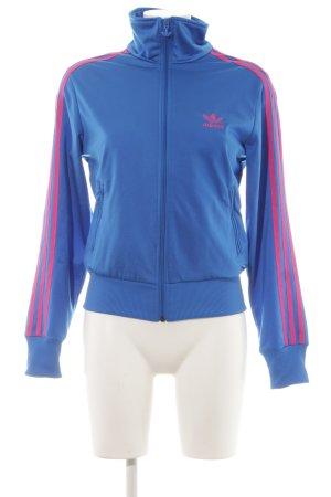 Adidas Giacca sport blu neon modello web stile casual