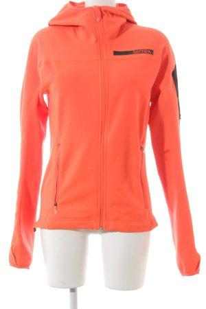 Adidas Giacca sport arancio neon stile atletico
