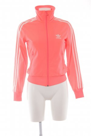 Adidas Sportjacke neonpink Casual-Look