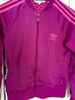Adidas Sportjacke pink, lila