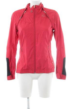 Adidas Veste de sport rouge style athlétique