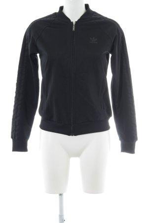 Adidas Veste de sport noir style décontracté