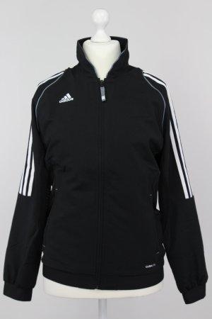 Adidas Sportjacke schwarz Größe 42 1711220120497