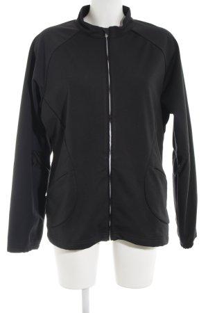 Adidas Sportjacke schwarz schlichter Stil