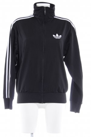 Adidas Sports Jacket black-white casual look