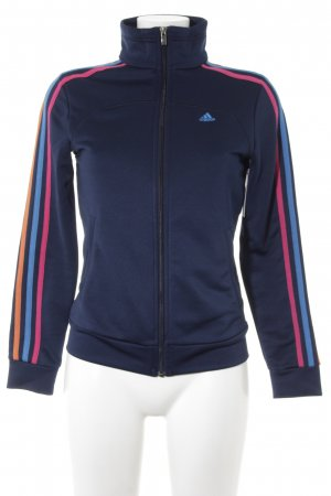 Adidas Sportjacke Streifenmuster sportlicher Stil