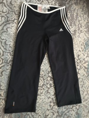 Adidas Legging wit-zwart