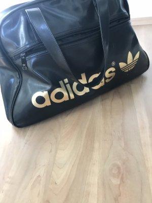 Adidas Borsa da bowling nero-oro