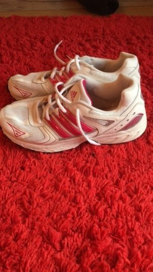 Adidas Sportschuhe Weiß / Pink