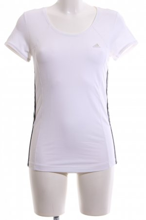 Adidas Sports Shirt white casual look