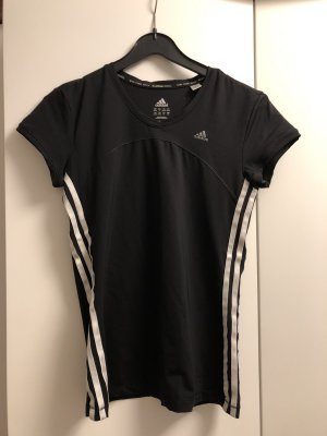 Adidas Sports Shirt black-white nylon