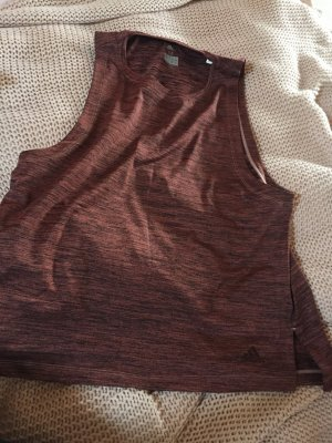 Adidas Muscle Shirt rose-gold-coloured-bordeaux