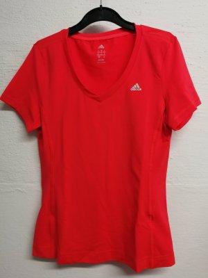 Adidas Sportshirt neonoranje