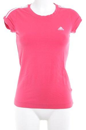 Adidas Sportshirt himbeerrot sportlicher Stil