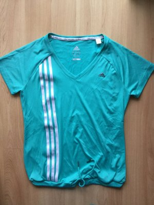 Adidas Sportshirt Kurzarm Türkis