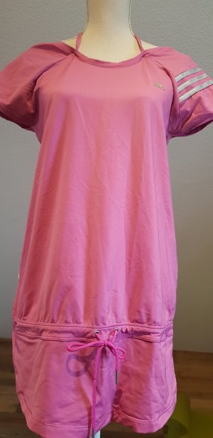 Adidas Originals Sports Shirt pink-silver-colored