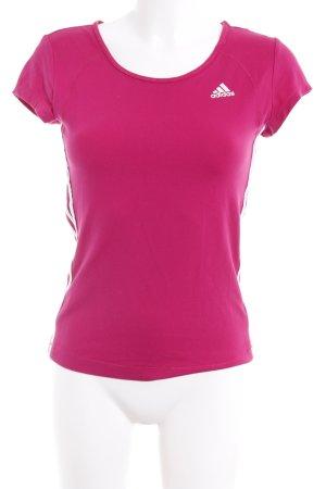 Adidas Sportshirt magenta sportlicher Stil