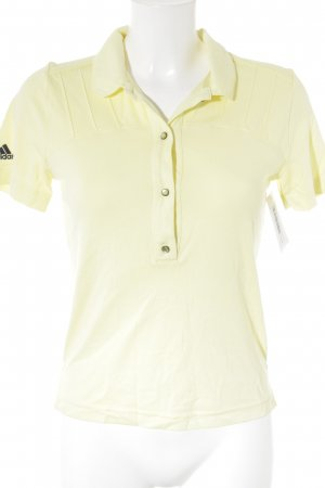 Adidas Sports Shirt neon yellow athletic style