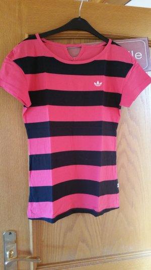 Adidas Sportshirt pink/schwarz