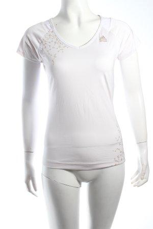 Adidas Camisa deportiva blanco