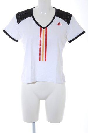 Adidas Sportshirt weiß sportlicher Stil