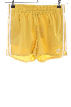 Adidas Sport Shorts primrose striped pattern athletic style