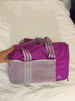 Adidas Bolsa de gimnasio blanco-violeta