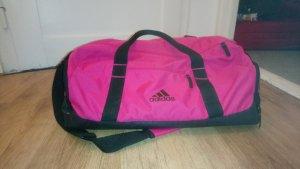 Adidas Bolsa de gimnasio negro-rosa
