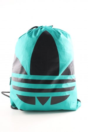 Adidas Sports Bag turquoise-black casual look