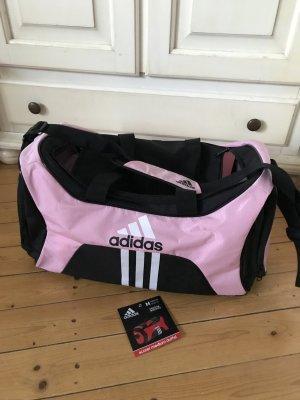 Adidas Sporttasche Rosa  Schwarz sehr leicht neuwertig