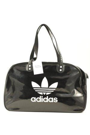 Adidas Sac de sport noir-blanc style athlétique