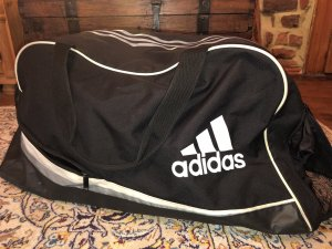 Adidas Sports Bag black-white