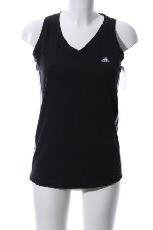 Adidas Sporttop schwarz Casual-Look