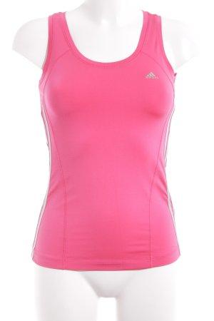Adidas Sporttop roze atletische stijl
