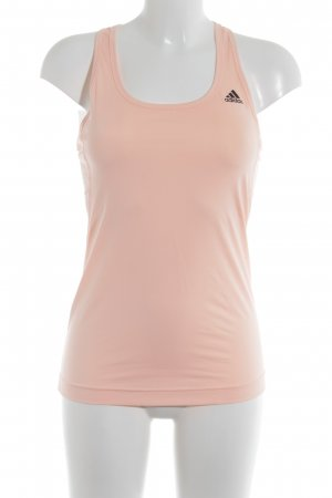 Adidas Sports Tank apricot striped pattern athletic style