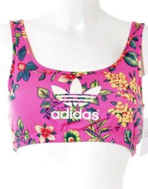 Adidas Sporttop bloemen patroon atletische stijl
